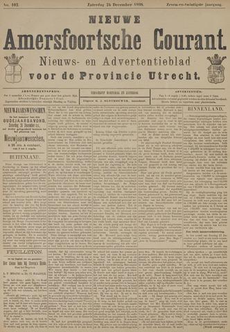 Nieuwe Amersfoortsche Courant 1898-12-24