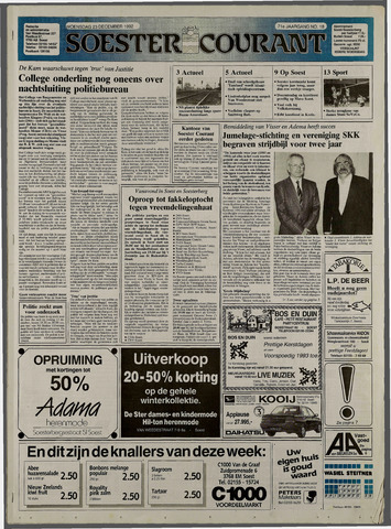 Soester Courant 1992-12-23