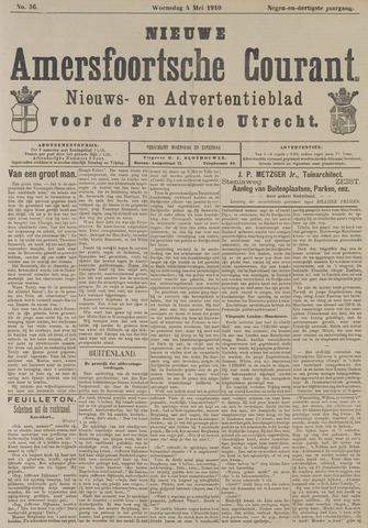 Nieuwe Amersfoortsche Courant 1910-05-04