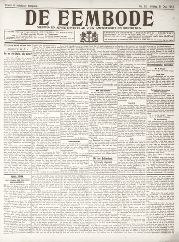 De Eembode 1913-10-31