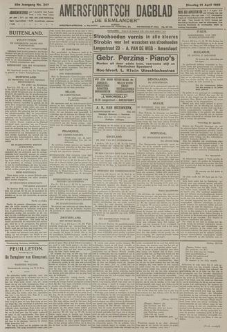 Amersfoortsch Dagblad / De Eemlander 1925-04-21