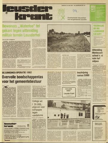 Leusder Krant 1981-06-30