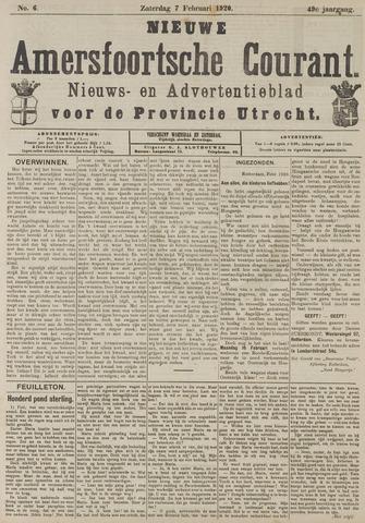 Nieuwe Amersfoortsche Courant 1920-02-07