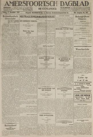 Amersfoortsch Dagblad / De Eemlander 1931-11-27