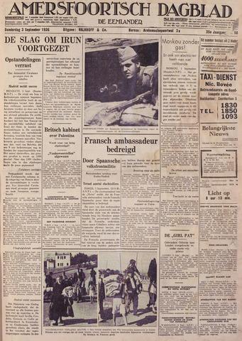 Amersfoortsch Dagblad / De Eemlander 1936-09-03