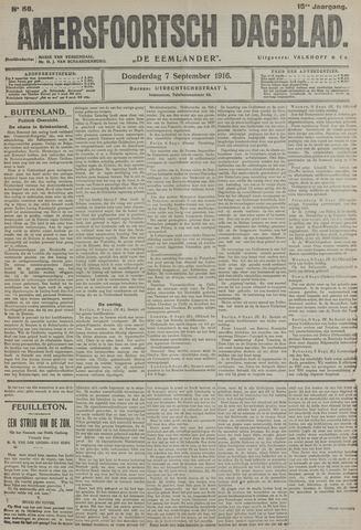 Amersfoortsch Dagblad / De Eemlander 1916-09-07