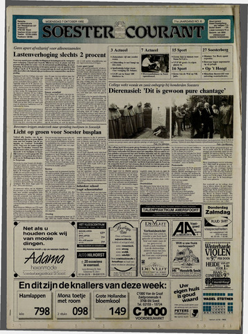 Soester Courant 1992-10-07