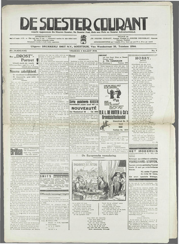 Soester Courant 1938-03-04