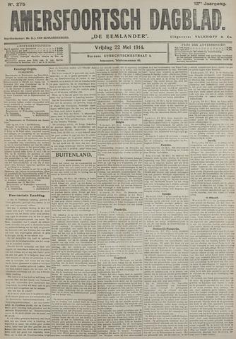 Amersfoortsch Dagblad / De Eemlander 1914-05-22