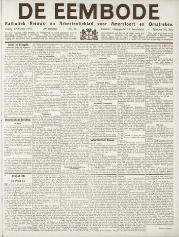 De Eembode 1914-10-02