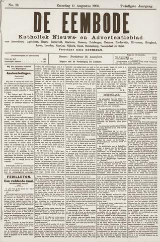 De Eembode 1906-08-11