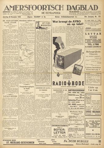 Amersfoortsch Dagblad / De Eemlander 1935-11-30