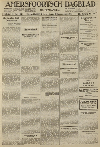 Amersfoortsch Dagblad / De Eemlander 1932-06-16