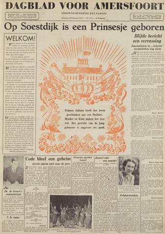 Dagblad voor Amersfoort 1947-02-18