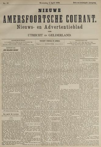 Nieuwe Amersfoortsche Courant 1894-04-04