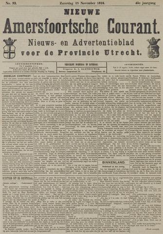Nieuwe Amersfoortsche Courant 1916-11-18