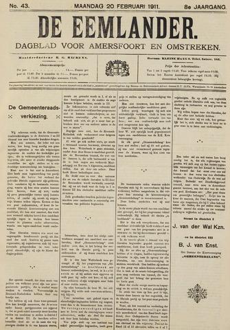 De Eemlander 1911-02-20