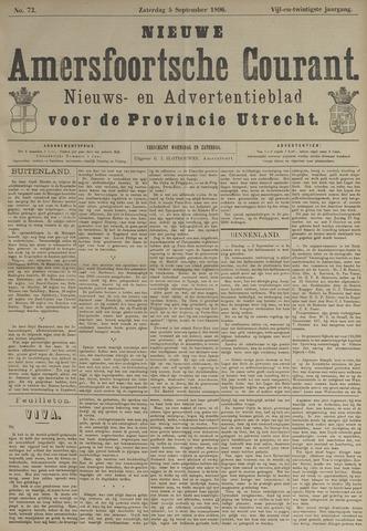 Nieuwe Amersfoortsche Courant 1896-09-05