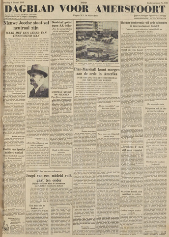 Dagblad voor Amersfoort 1948-01-06
