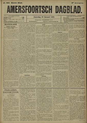 Amersfoortsch Dagblad 1910-01-29