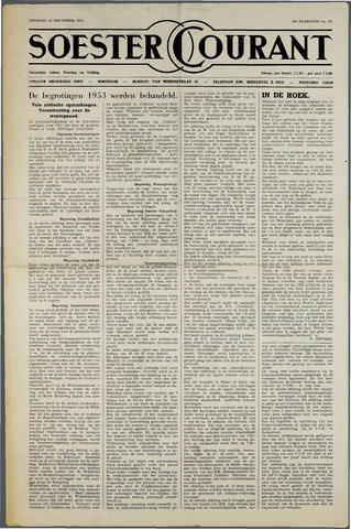 Soester Courant 1952-12-16
