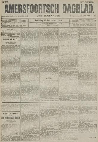 Amersfoortsch Dagblad / De Eemlander 1914-12-15