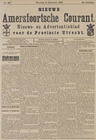 Nieuwe Amersfoortsche Courant 1912-09-14