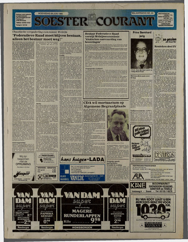 Soester Courant 1985-06-26