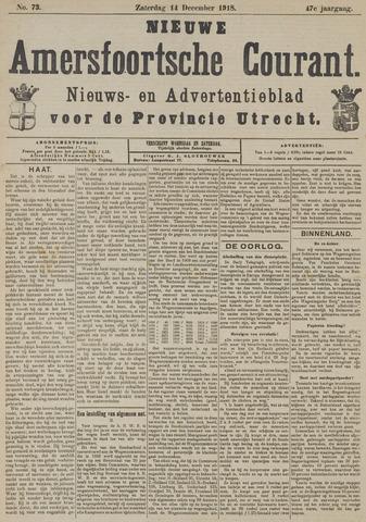 Nieuwe Amersfoortsche Courant 1918-12-14