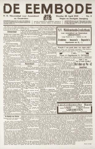 De Eembode 1925-04-28
