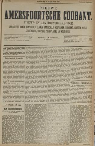 Nieuwe Amersfoortsche Courant 1884-08-27