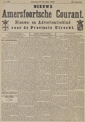 Nieuwe Amersfoortsche Courant 1913-12-27
