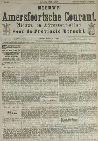 Nieuwe Amersfoortsche Courant 1896-05-30