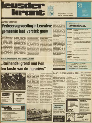 Leusder Krant 1978-11-30