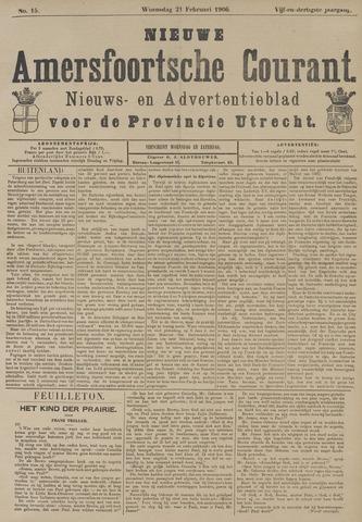 Nieuwe Amersfoortsche Courant 1906-02-21