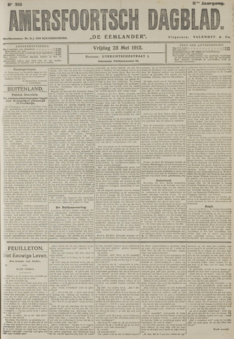 Amersfoortsch Dagblad / De Eemlander 1913-05-23
