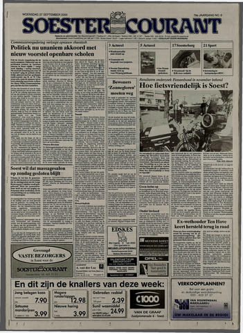 Soester Courant 2000-09-27