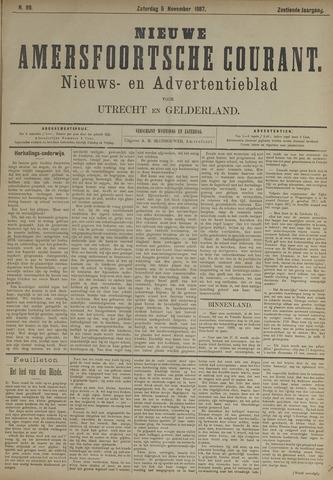 Nieuwe Amersfoortsche Courant 1887-11-05