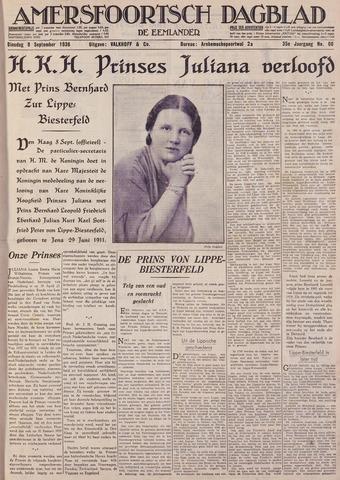 Amersfoortsch Dagblad / De Eemlander 1936-09-08