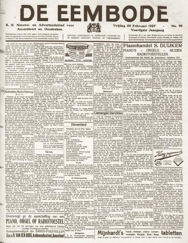 De Eembode 1927-02-25