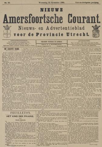 Nieuwe Amersfoortsche Courant 1905-11-22