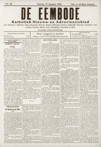 De Eembode 1909-08-14