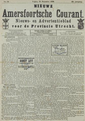 Nieuwe Amersfoortsche Courant 1920-12-31