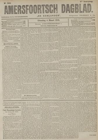Amersfoortsch Dagblad / De Eemlander 1913-03-04