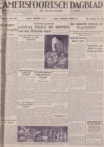 Amersfoortsch Dagblad / De Eemlander 1940-05-31