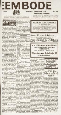De Eembode 1926-12-07
