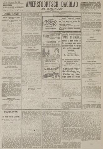 Amersfoortsch Dagblad / De Eemlander 1925-11-20