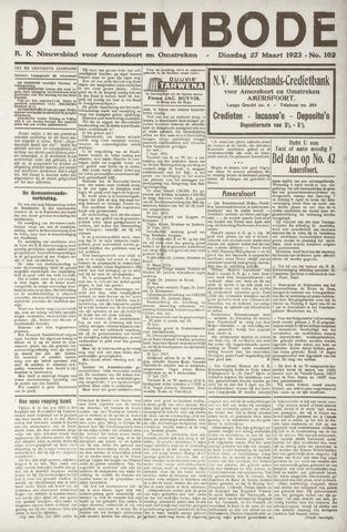 De Eembode 1923-03-27