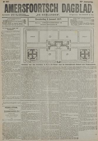 Amersfoortsch Dagblad / De Eemlander 1917-01-04