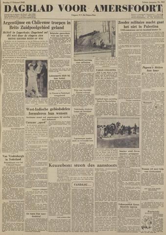 Dagblad voor Amersfoort 1948-02-17